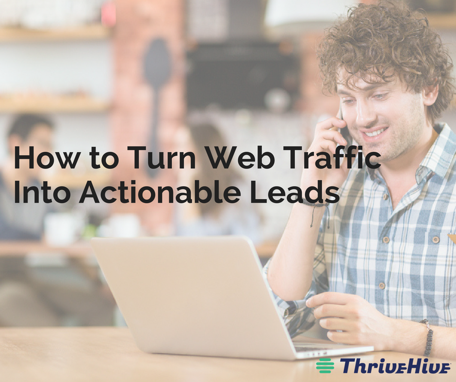 How to Turn Web Traffic Into Actionable Leads