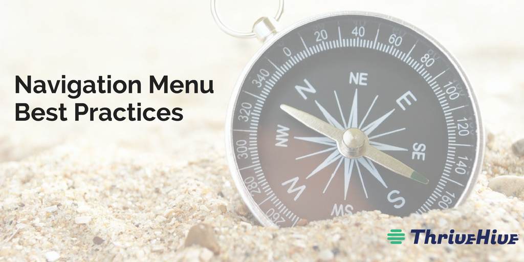 Navigation Menu Best Practices