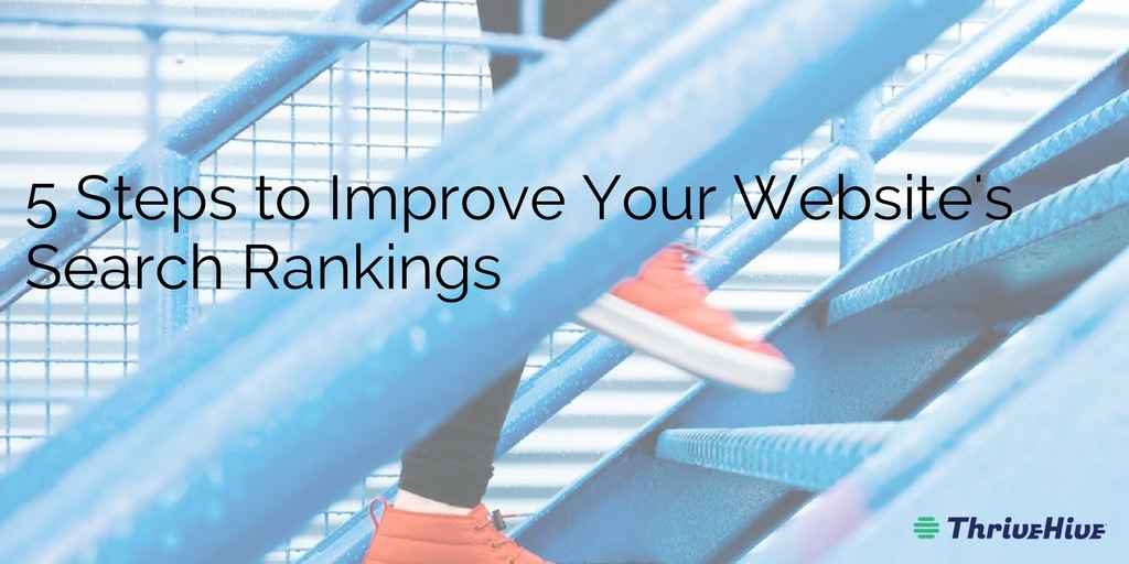5 Steps to Improve Your Website's Search Rankings
