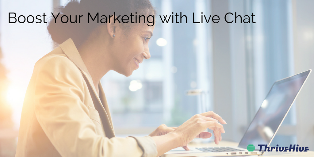 Boost Your Marketing with Live Chat