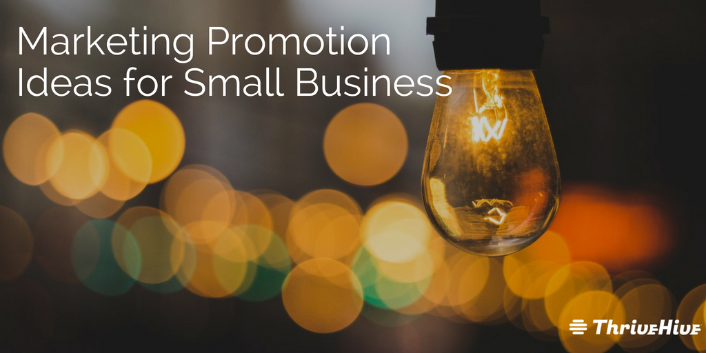 Marketing Promotion Ideas for Small Business
