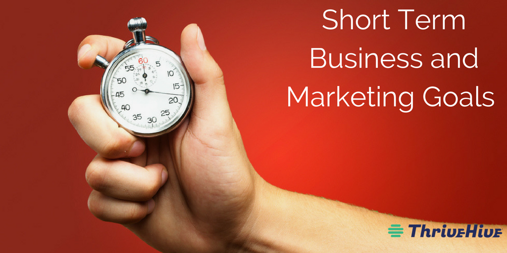 Short Term Business and Marketing Goals