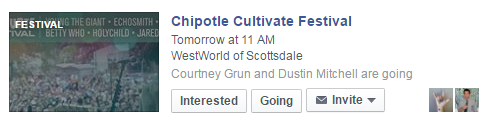facebook suggested event