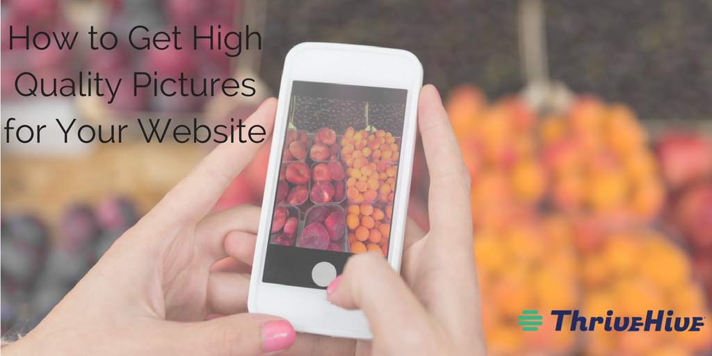 How to Get High Quality Pictures for Your Website