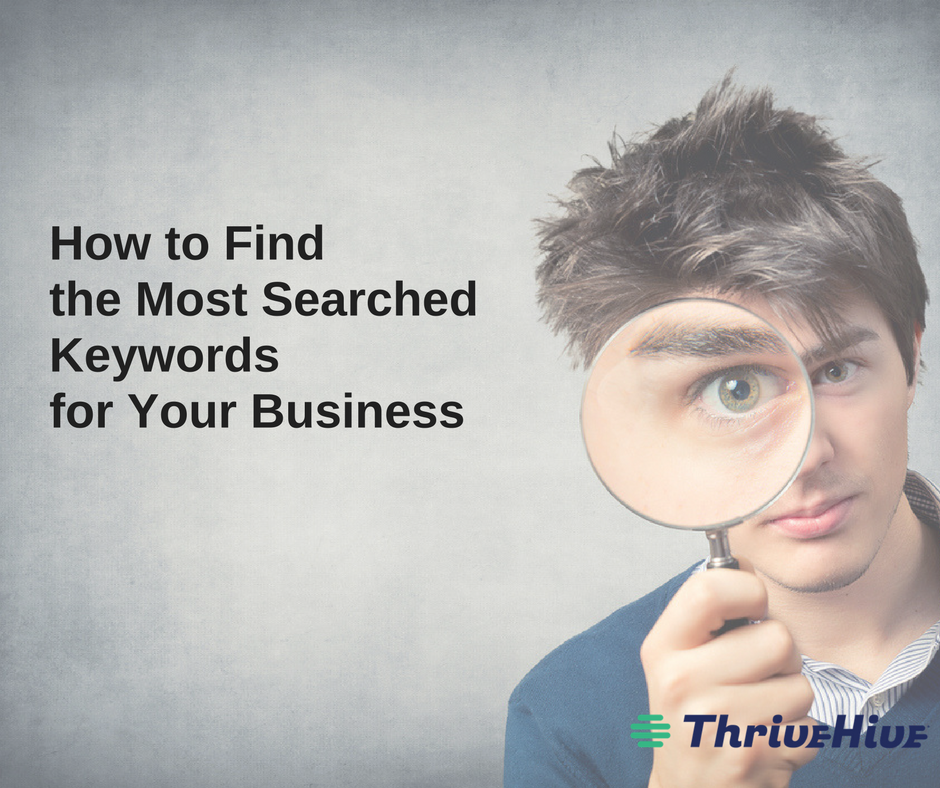 how to find the most searched keywords for your business