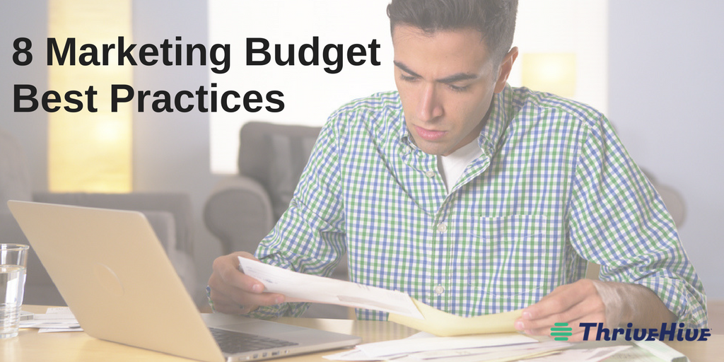 marketing budget best practices