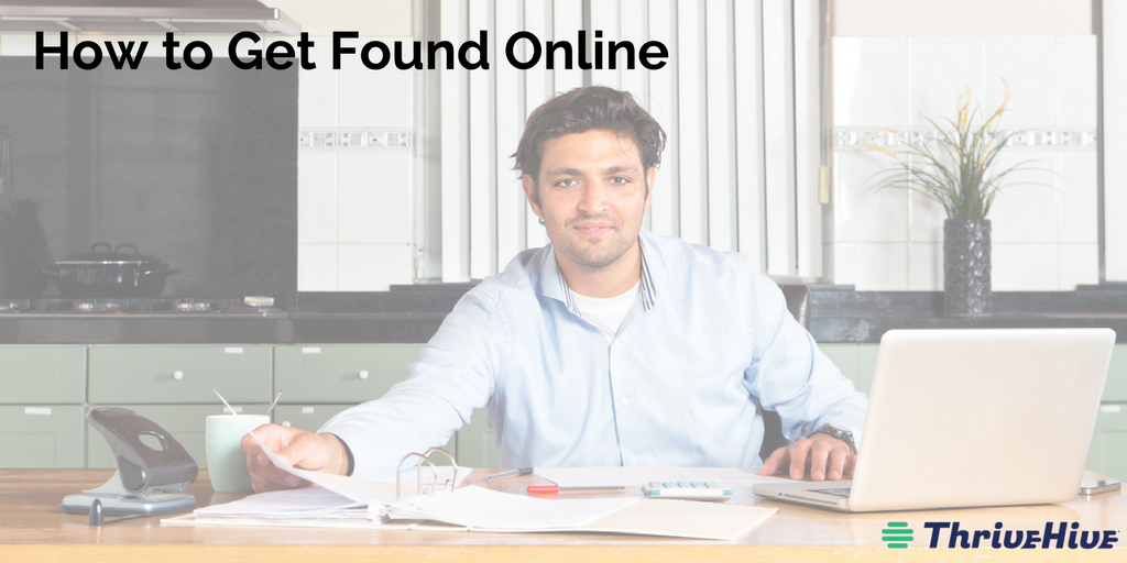 how to get found online