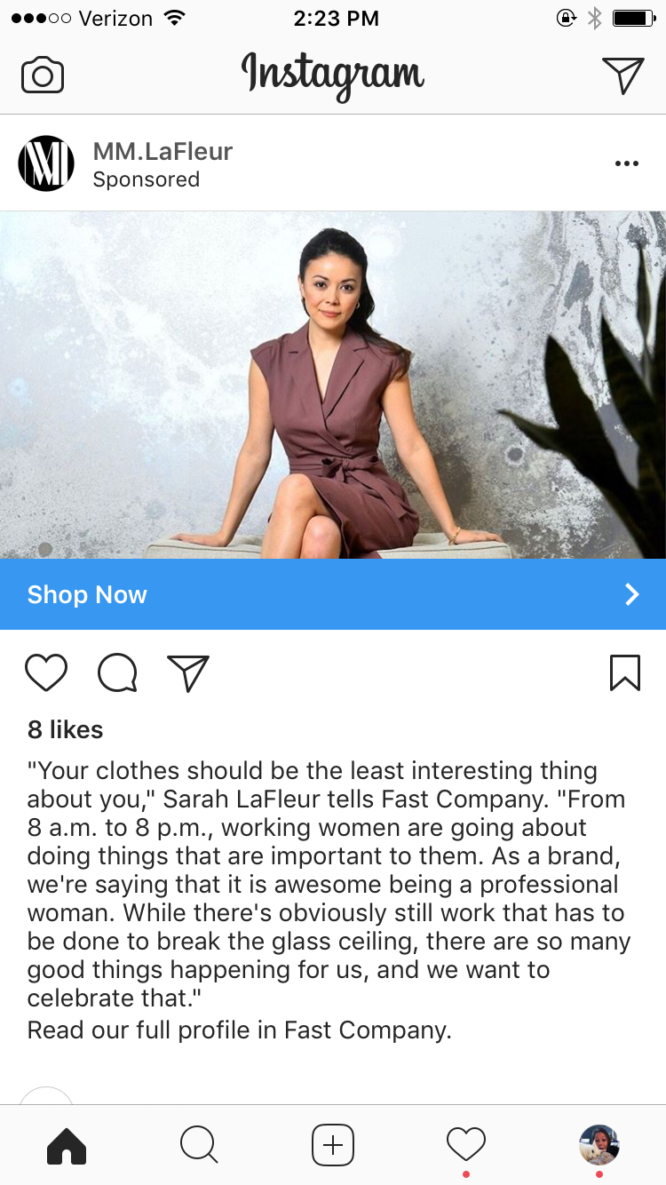 examples of instagram ads