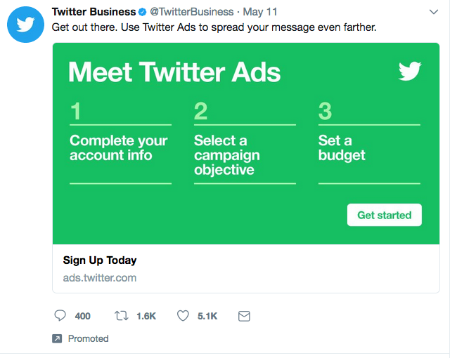 Examples of Twitter Ads Twitter