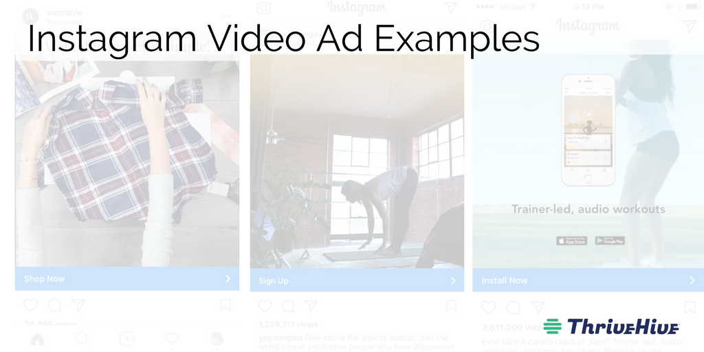 Instagram Video Ad Examples