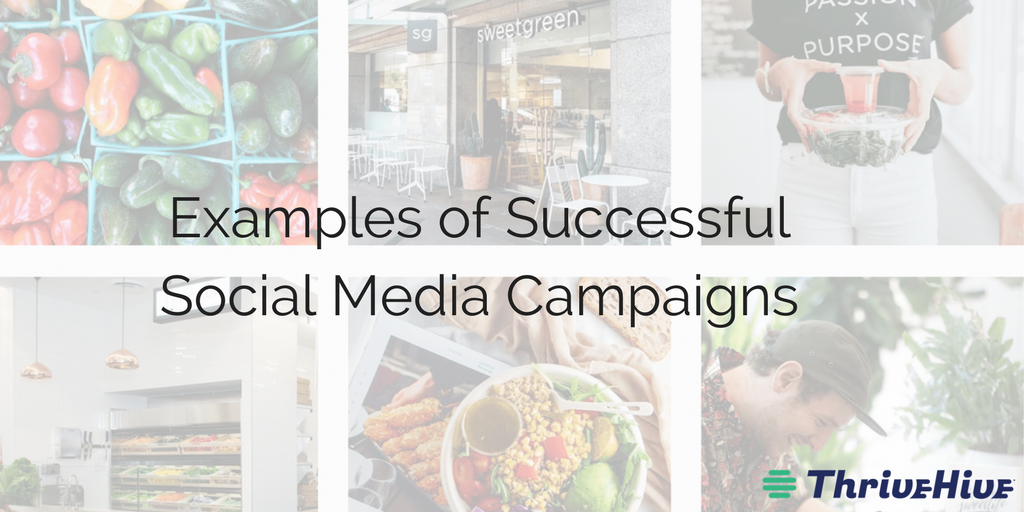 examples of successful social media campaigns