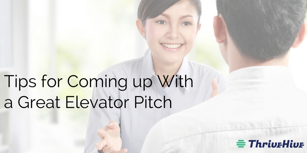Tips for Coming up With a Great Elevator Pitch