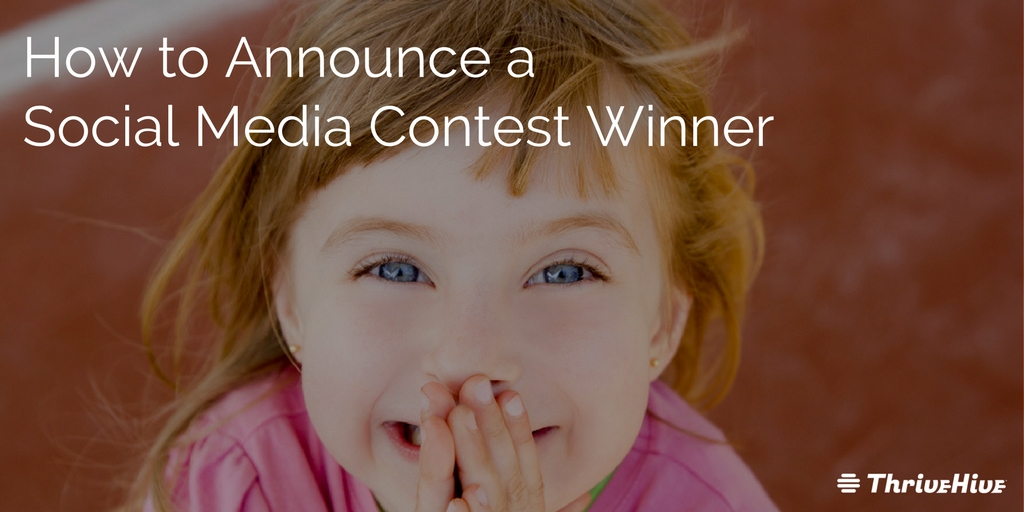 How to Announce a Winner for Social Media Contests