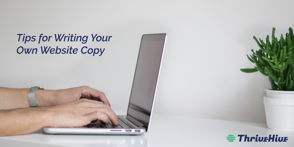 Tips for Writing Your Own Website Copy