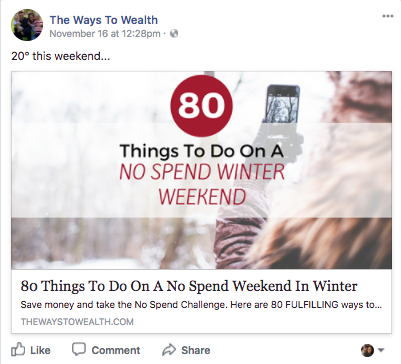 facebook holiday money tips