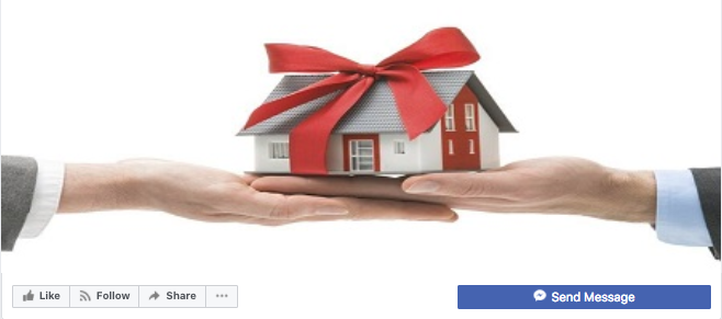 facebook holiday real estate cover photo
