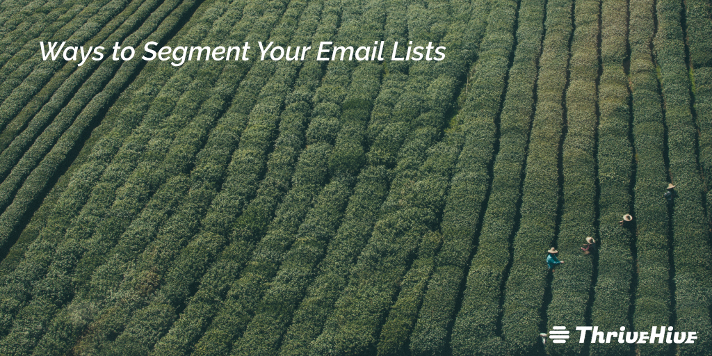 Ways to Segment Your Email Lists