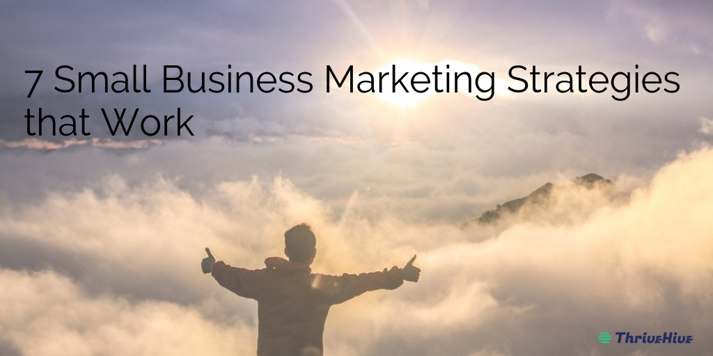 7 Small Business Marketing Strategies that Work