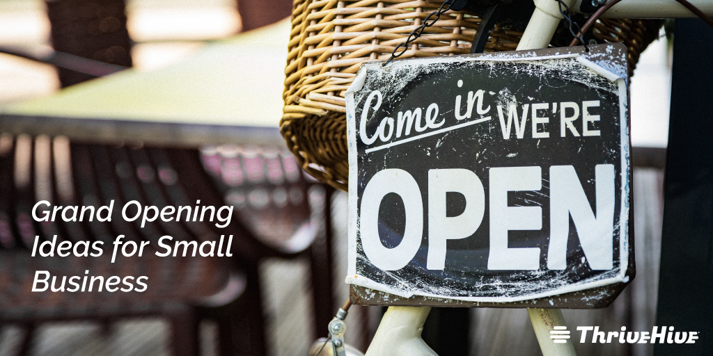 Grand Opening Ideas for Small Business