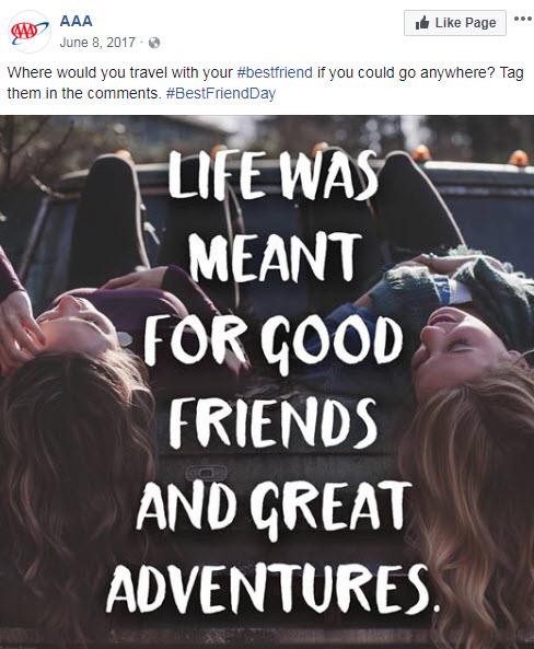 june facebook ideas bff