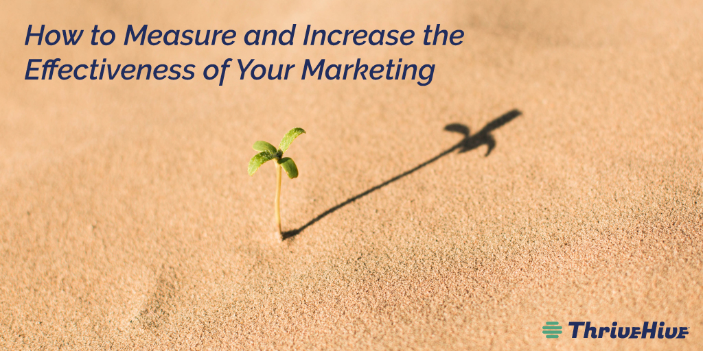 How to Measure and Increase the Effectiveness of Your Marketing