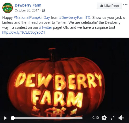 october facebook ideas pumpkin