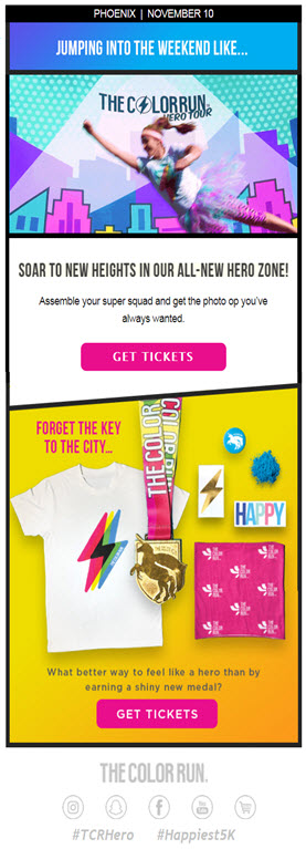 examples of effective email marketing campaigns design