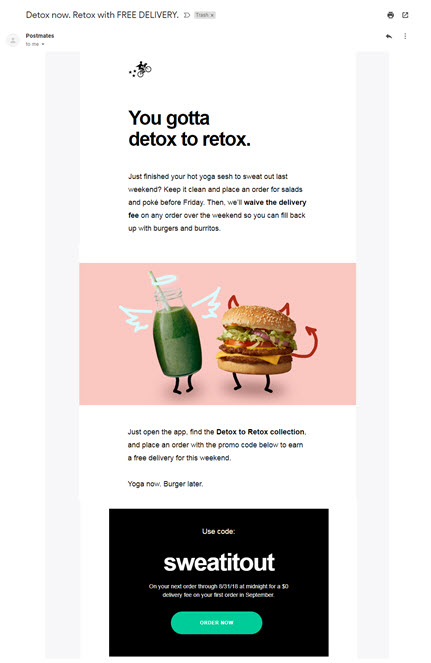 examples of effective email marketing campaigns humor