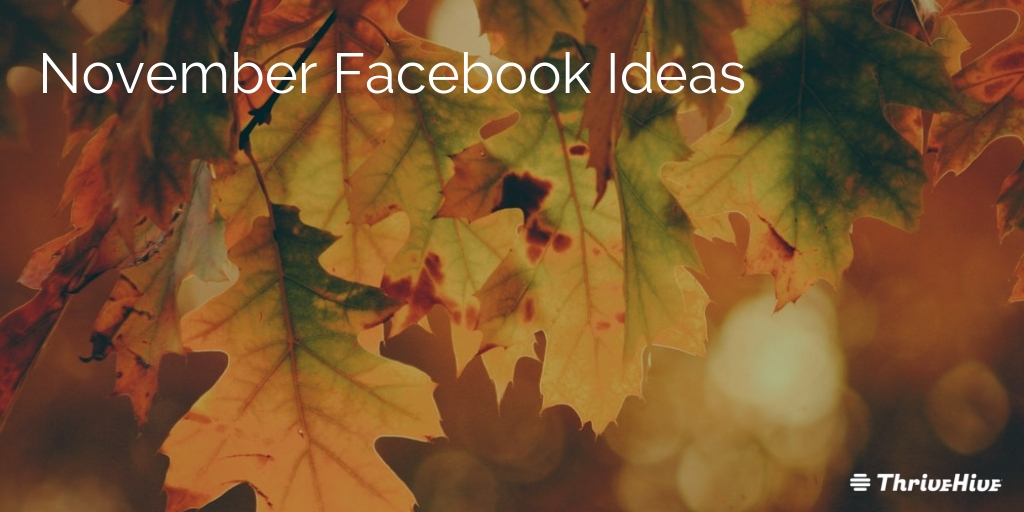 November Facebook Ideas