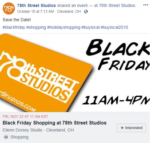 november facebook ideas blackfriday
