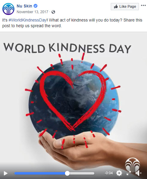november facebook ideas kindness