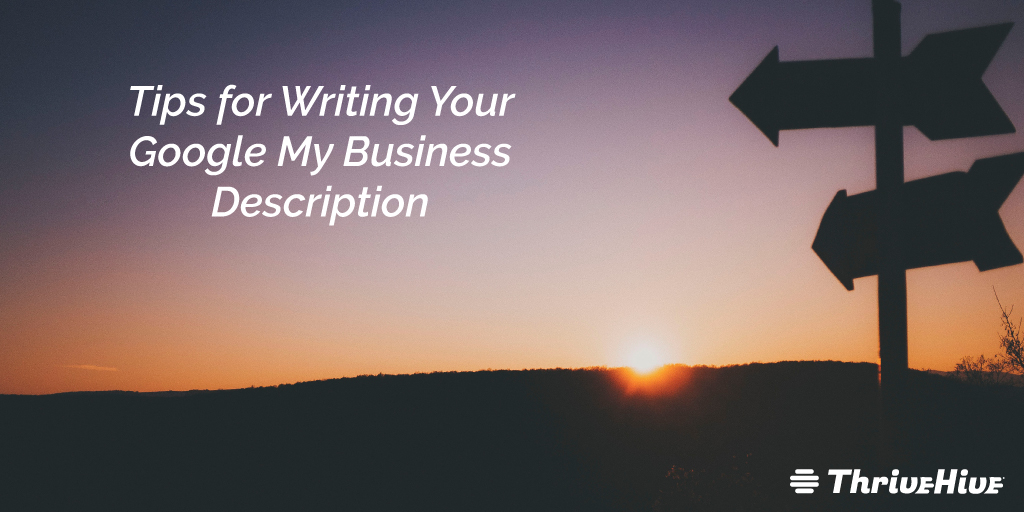 Tips for Writing Your Google My Business Description