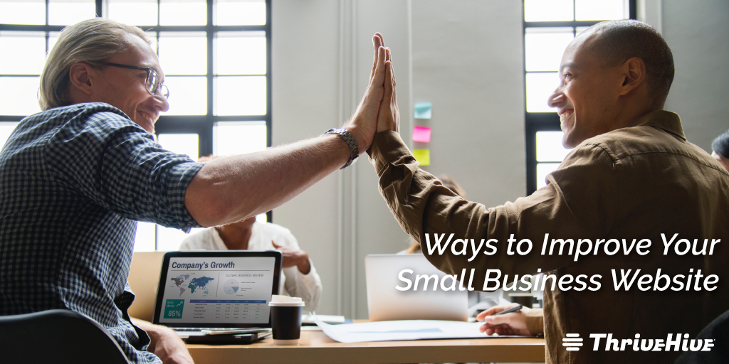Ways to Improve Your Small Business Website