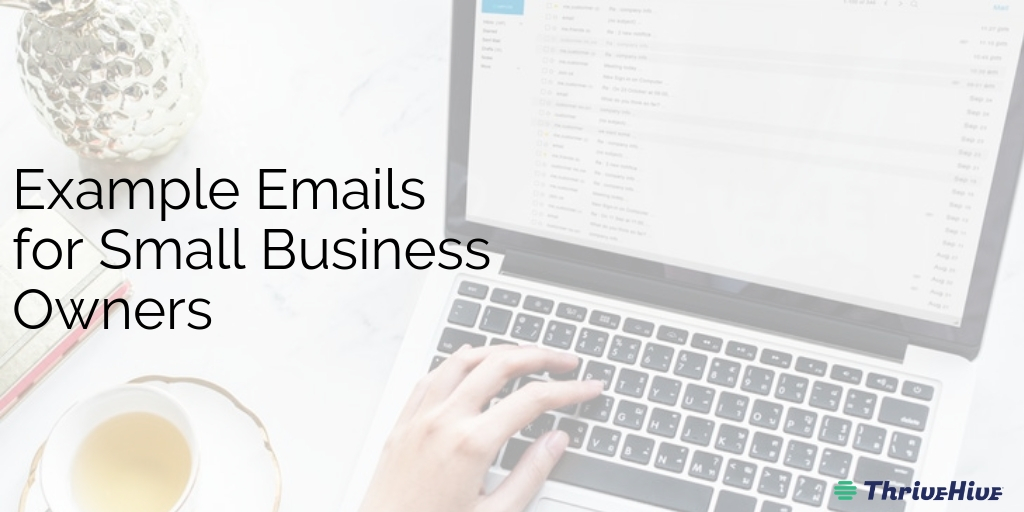 Example Emails for Small Business Owners