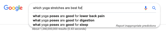 how to get more customers from google suggest