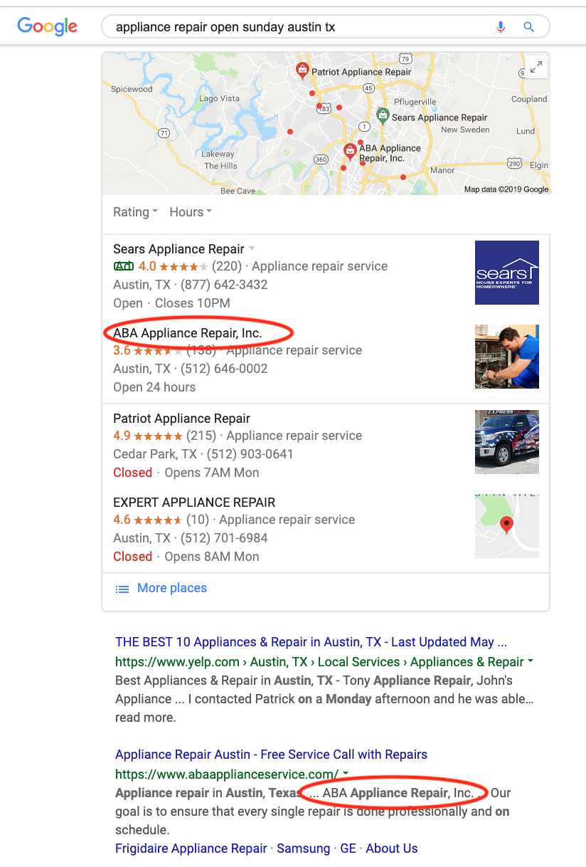 how to get free google advertising local SEO