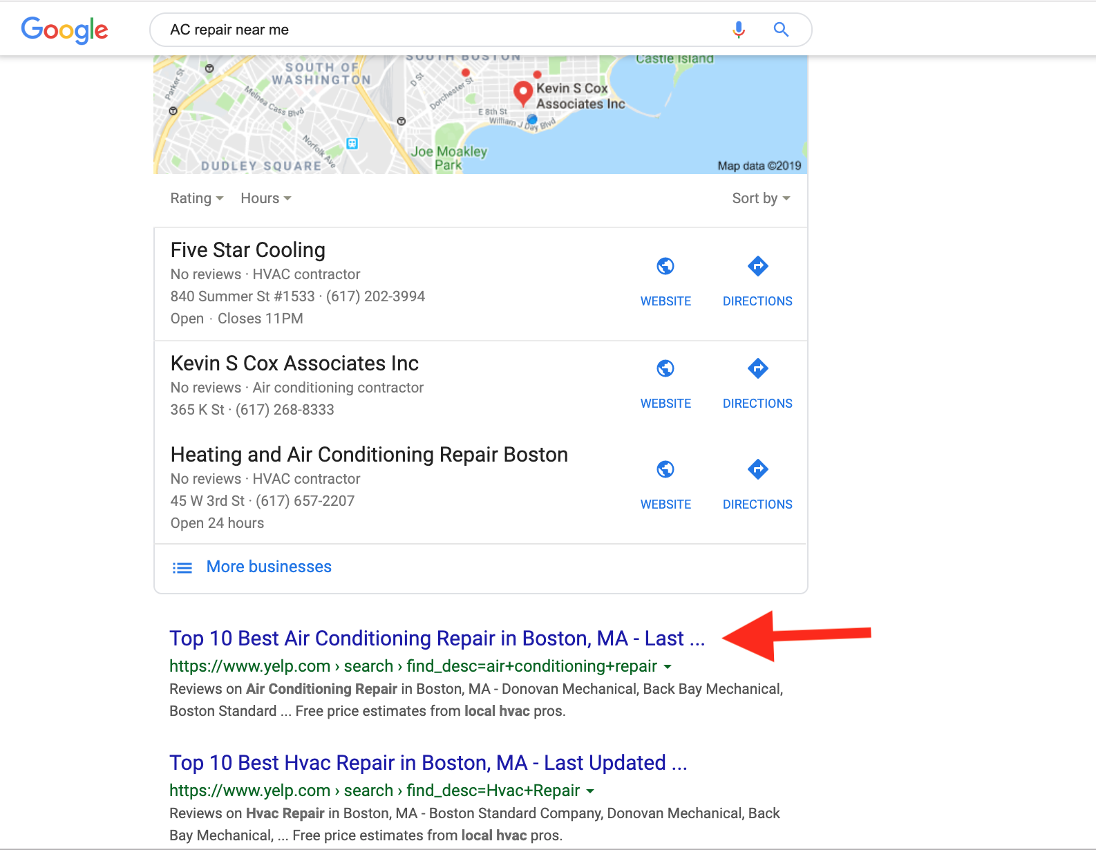 how to show up in near me searches 10 best
