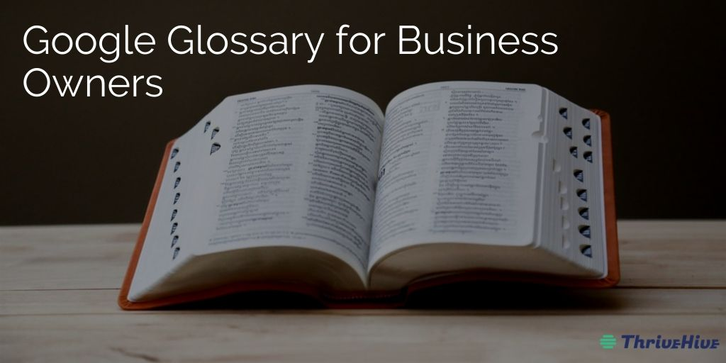 Google Glossary for Business Owners